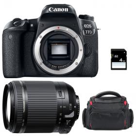 Canon EOS 77D + Tamron 18-200mm F/3.5-6.3 Di II VC + Sac + SD 4Go