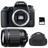 Canon EOS 77D + Tamron 18-200mm F/3.5-6.3 Di II VC + Sac + SD 4Go | Garantie 2 ans