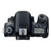Canon EOS 77D + EF-S 18-55mm f/4-5.6 IS STM + Sigma 70-300 f/4-5,6 APO DG MACRO + Bolsa + SD 4 Go