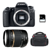 Canon EOS 77D + Tamron AF 18-270 mm f/3.5-6.3 Di II VC PZD + Bag + SD 4Go | 2 Years Warranty