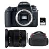 Canon EOS 77D + Sigma 17-50 F2.8 DC OS EX HSM + Sac + SD 4Go | Garantie 2 ans