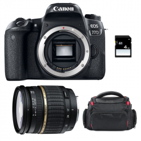 Canon EOS 77D + Tamron SP AF 17-50 f/2.8 XR Di II LD + Sac + SD 4Go