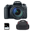 Canon EOS 77D + EF-S 18-135 mm f/3.5-5.6 IS USM + Sac + SD 4Go | Garantie 2 ans