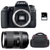 Canon EOS 77D + Tamron 16-300 mm f/3.5-6.3 Di II VC PZD MACRO + Bolsa + SD 4Go