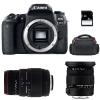 Canon EOS 77D + Sigma 17-50 F2.8 DC OS EX HSM + Sigma 70-300 f/4-5,6 APO DG MACRO + Bolsa + SD 4 Go | 2 años de garantía