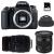 Canon EOS 77D + Sigma 17-70 F2.8-4 DC Macro OS HSM Cont. + 70-300 f/4-5,6 APO DG MACRO + Bolsa + SD 4 Go