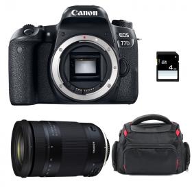 Canon EOS 77D + Tamron 18-400mm f/3.5-6.3 Di II VC HLD + Sac + SD 4Go