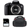 Canon EOS 800D Body + Bag + SD 4Go | 2 Years Warranty