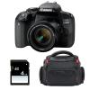 Canon EOS 800D + EF-S 18-55mm f/4-5.6 IS STM + Sac + SD 4Go | Garantie 2 ans