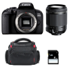 Canon EOS 800D + Tamron 18-200mm F/3.5-6.3 Di II VC + Sac + SD 4Go