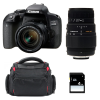Canon EOS 800D + EF-S 18-55mm f/4-5.6 IS STM + Sigma 70-300 DG MACRO + Bag + SD 4Go | 2 Years Warranty