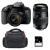 Canon EOS 800D + EF-S 18-55mm f/4-5.6 IS STM + Tamron AF 70-300 mm f/4-5,6 Di LD + Bolsa + SD 4Go