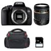 Canon EOS 800D + Tamron AF 18-270 mm f/3.5-6.3 Di II VC PZD + Bag + SD 4Go | 2 Years Warranty