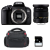 Canon EOS 800D + Sigma 17-50 F2.8 DC OS EX HSM + Bag + SD 4Go | 2 Years Warranty