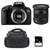 Canon EOS 800D + Sigma 17-70 F2.8-4 DC Macro OS HSM Contemporary + Sac + SD 4Go | Garantie 2 ans