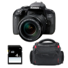 Canon EOS 800D + 18-135 IS STM + Bolsa + SD 4Go | 2 años de garantía