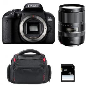 Canon EOS 800D + Tamron 16-300 mm f/3.5-6.3 Di II VC PZD MACRO + Bag + SD 4Go   2 Years Warranty