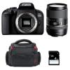 Canon EOS 800D + Tamron 16-300 mm f/3.5-6.3 Di II VC PZD MACRO + Bag + SD 4Go | 2 Years Warranty