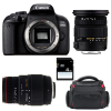 Canon EOS 800D + Sigma 17-50 F2.8 DC OS EX HSM + Sigma 70-300 f/4-5,6 APO DG MACRO + Bag + SD 4Go | 2 Years Warranty