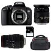 Canon EOS 800D + Sigma 17-50 F2.8 DC OS EX HSM + Sigma 70-300 f/4-5,6 APO DG MACRO + Sac + SD 4Go | Garantie 2 ans