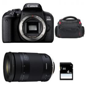 Canon EOS 800D + Tamron 18-400mm f/3.5-6.3 Di II VC HLD + Sac + SD 4Go