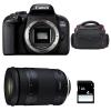 Canon EOS 800D + Tamron 18-400mm f/3.5-6.3 Di II VC HLD + Bag + SD 4Go | 2 Years Warranty