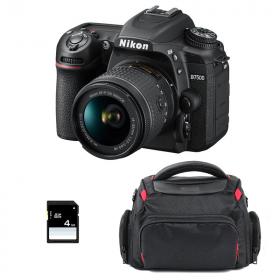 Nikon D7500 + AF-P DX NIKKOR 18-55 mm f/3.5-5.6G VR + Sac + SD 4Go