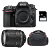 Nikon D7500 + AF-S DX 18-105 mm f/3.5-5.6G ED VR + Bag + SD 4Go | 2 Years Warranty