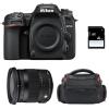 Nikon D7500 + Sigma 17-70 mm f/2,8-4 DC Macro OS HSM Contemporary + Bolsa + SD 4 Go | 2 años de garantía