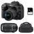 Nikon D7500 + AF-P DX 18-55mm 3.5-5.6G VR + AF-P DX 70-300 mm f/4.5-6.3 G ED VR + Sac + SD 4Go | Garantie 2 ans
