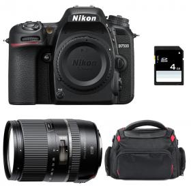 Nikon D7500 + Tamron 16-300mm VC PZD + Sac + SD 4Go