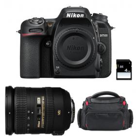Nikon D7500 + AF-S DX 18-200 mm f/3.5-5.6G ED VR II + Sac + SD 4Go