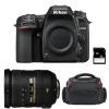 Nikon D7500 + AF-S DX 18-200 mm f/3.5-5.6G ED VR II + Bag + SD 4Go | 2 Years Warranty