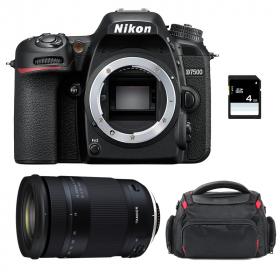 Nikon D7500 + Tamron 18-400mm f/3.5-6.3 Di II VC HLD + Sac + SD 4Go
