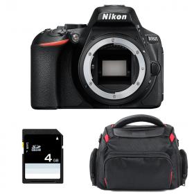 Nikon D5600 Nu + Sac + SD 4Go