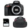 Nikon D5600 Body + Bag + SD 4Go | 2 Years Warranty