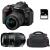 Nikon D5600 + AF-P DX 18-55 mm f/3.5-5.6G VR + Tamron AF 70-300 mm f/4-5,6 Di LD Macro 1/2 + Sac + SD 4Go | Garantie 2 ans