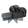 Nikon D5600 + AF-P DX NIKKOR 18-55 mm f/3.5-5.6G VR + Tamron AF 70-300 mm f/4-5,6 Di LD Macro 1/2 + Bolsa + SD 4Go