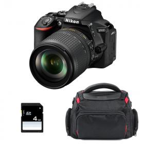 Nikon D5600 + AF-S DX 18-105 mm f/3.5-5.6G ED VR + Bag + SD 4Go   2 Years Warranty