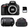 Nikon D5600 + Tamron 18-200 mm F/3.5-6.3 Di II VC + Sac + SD 4Go | Garantie 2 ans