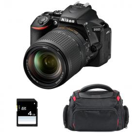 Nikon D5600 + AF-S DX 18-140 mm f/3.5-5.6G ED VR + Sac + SD 4Go