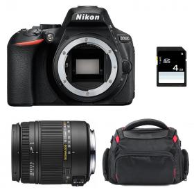 Nikon D5600 + Sigma 18-250 mm f/3,5-6,3 DC MACRO OS HSM + Sac + SD 4Go