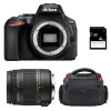 Nikon D5600 + Sigma 18-250 mm f/3,5-6,3 DC MACRO OS HSM + Bag + SD 4Go   2 Years Warranty