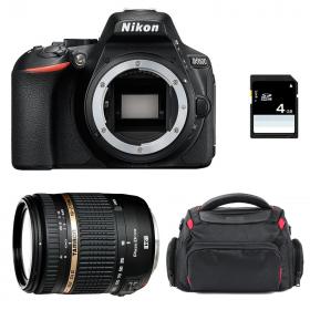 Nikon D5600 + Tamron AF 18-270 mm f/3.5-6.3 Di II VC PZD + Bolsa + SD 4Go