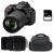 Nikon D5600 + AF-S DX 18-105 mm f/3.5-5.6G ED VR + Sigma 70-300 mm f/4-5,6 DG Macro + Bag + SD 4Go | 2 Years Warranty