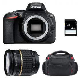 Nikon D5600 + Tamron SP AF 17-50 mm f/2,8 XR Di II LD + Bag + SD 4Go   2 Years Warranty