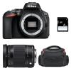 Nikon D5600 + Sigma 18-300 mm f/3,5-6,3 DC OS HSM Contemporary Macro + Bolsa + SD 4Go
