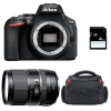 Nikon D5600 + Tamron 16-300 mm f/3.5-6.3 Di II VC PZD MACRO + Sac + SD 4Go | Garantie 2 ans