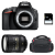 Nikon D5600 + AF-S DX 16-85 mm f/3.5-5.6G ED VR + Bag + SD 4Go | 2 Years Warranty