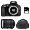 Nikon D5600 + AF-S DX 18-200 mm f/3.5-5.6G ED VR II + Bag + SD 4Go | 2 Years Warranty